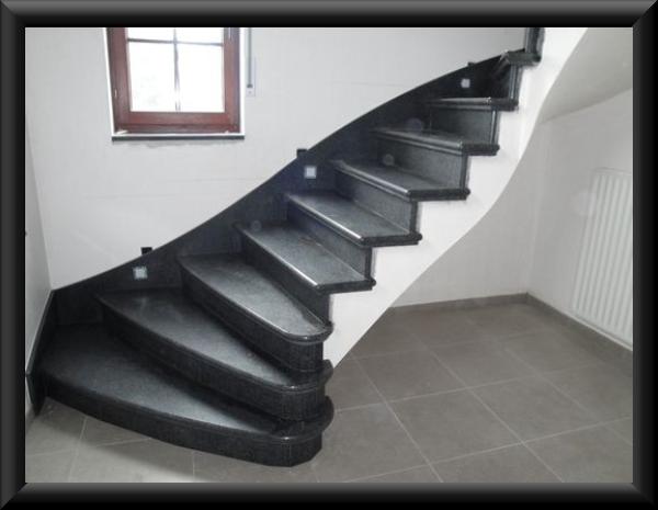Trappen trapbekleding marmer graniet composiet natuursteen - Type marmer met foto ...